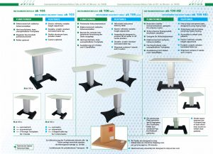 Instrument Delivery Tables