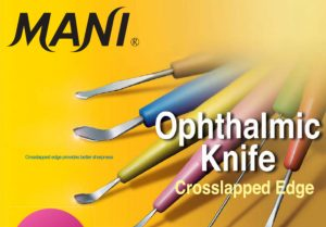 MANI Ophthalmic Knives